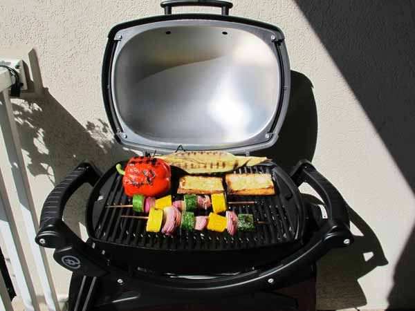 Weber Q 140 Electric Grill... been waiting for this one.  Would look great on my terrace....