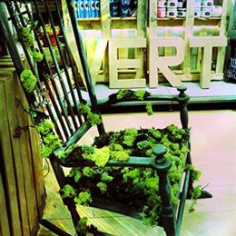 La chaise végétale - Atelier déco Zôdio Cesson http://zodio.fr/ete-creatif/crea/fiche/id/166