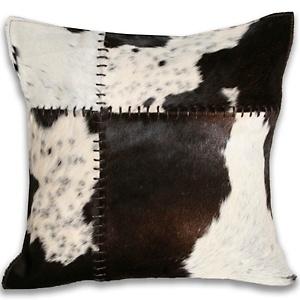 "Adrienne Landau 16"" Square Cowhide Pillow"