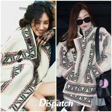 Jung Ryeo Won X Tiffany Hwang  Ryeo Won