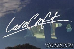 Turn Signature Into Decal @ www.decalboy.com