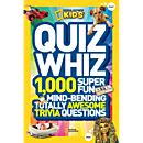 You'll find 1,000 fun, fascinating, and funny quiz questions like these in the new<i>National Geographic Kids Quiz Whiz</i> book.