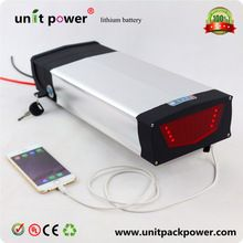 New Arriver 48V 20Ah 1000W Lithium ion Electric Bike Battery with USB 2.0 Port and 54.6V 2A Charger Battery for 48V 1000W Ebike