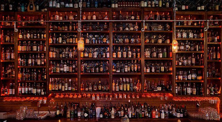 Bourbon Review's 2015 List of the Top Bourbon Bars in America. Best Bourbon Bars in America.