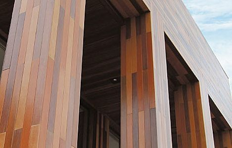 Wooden facade cladding SHERA Mahaphant FibreCement