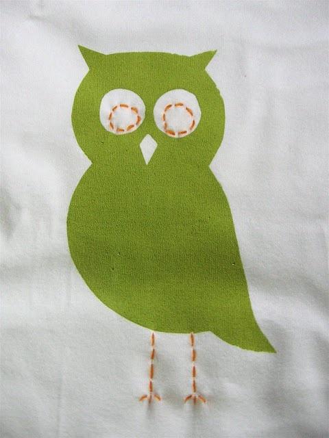 Owl onesie (made, made blog, dana made it, dana willard)