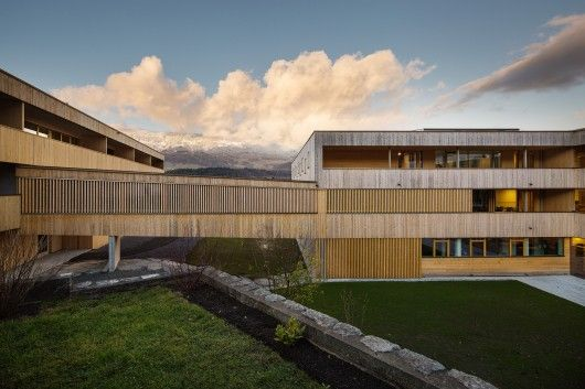 © Albrecht Imanuel Schnabel Architects: Dietger Wissounig Architects Location: 6710 Nenzing, Austria Area: 5100.0 sqm Year: 2014 Photographs: Albrecht