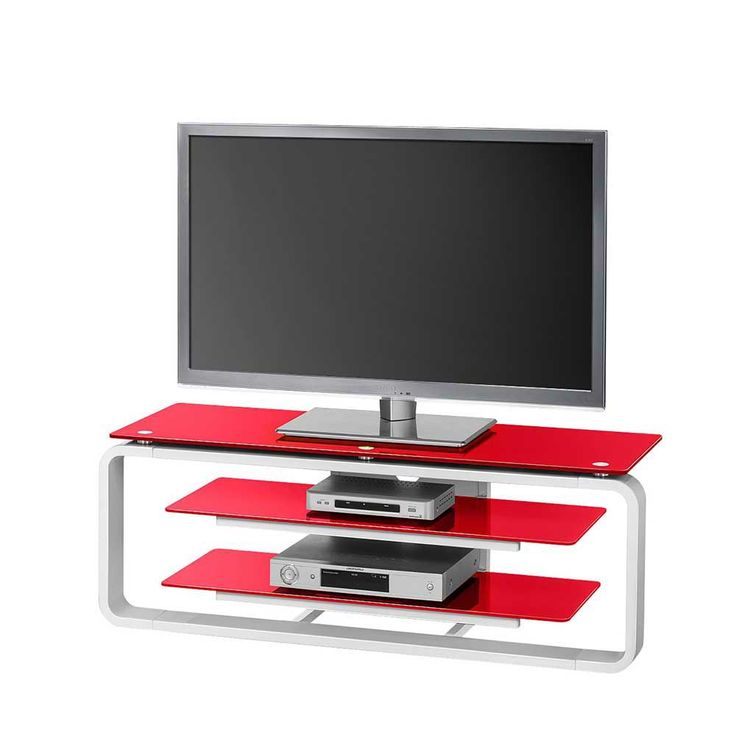 Fernsehtisch In Rot Weiss Beleuchtung Jetzt Bestellen Unter Moebelladendirektde Wohnzimmer Tv Hifi Moebel Lowboards Uid300e4250 F8d8 5b27
