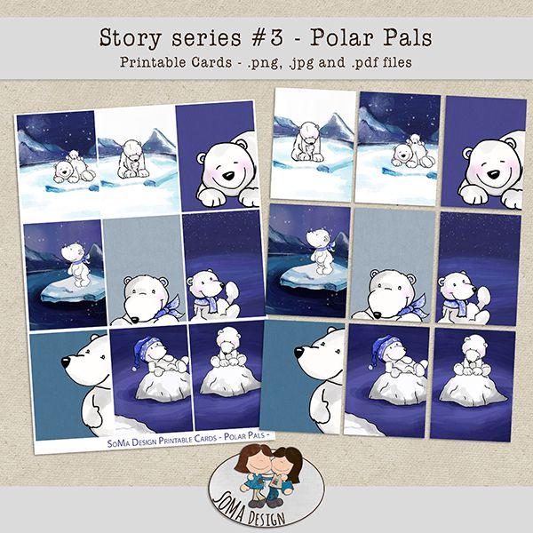 SoMa Design: Polar Pals Cards