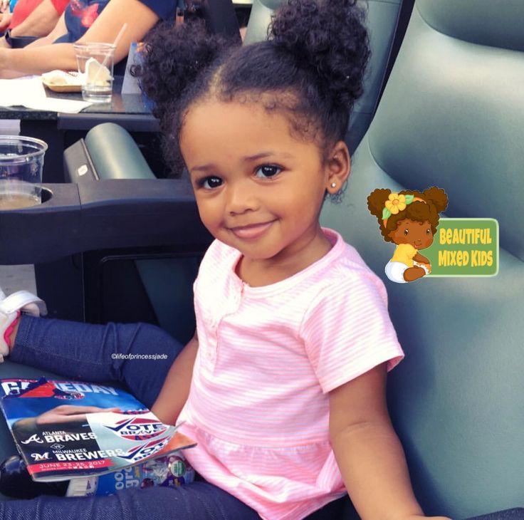 Jade - 1 Year • African American & Puerto Rican ♥️ FOLLOW @BEAUTIFULMIXEDKIDS http://instagram.com/beautifulmixedkids