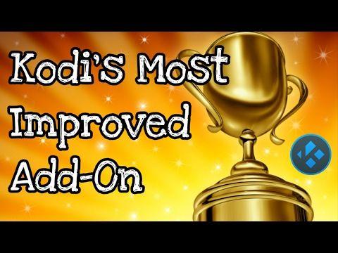 Kodi's Most Improved ADD-ON - YouTube