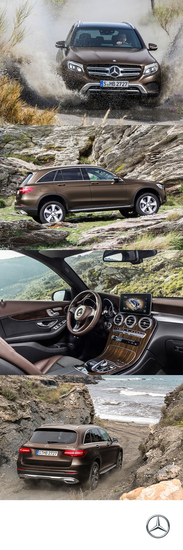 Every SUV gives you a commanding view of the road, the GLC is one of the few to give you power to command.