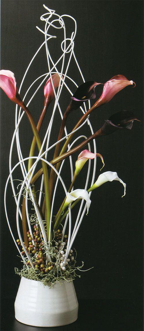 カラーリリィ造花