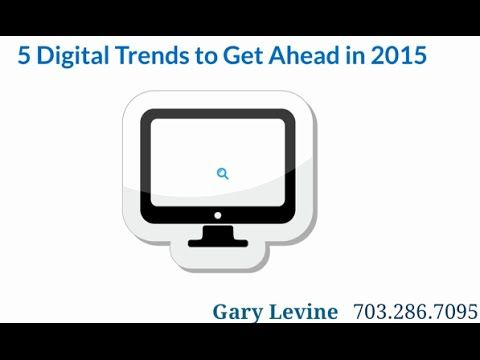 Digital Marketing Trends to Capitalize on in 2015 are: 1. Particpation Marketing 2. Smart Content 3. Focus on Customer Experience 4. Human Conversations 5. M...