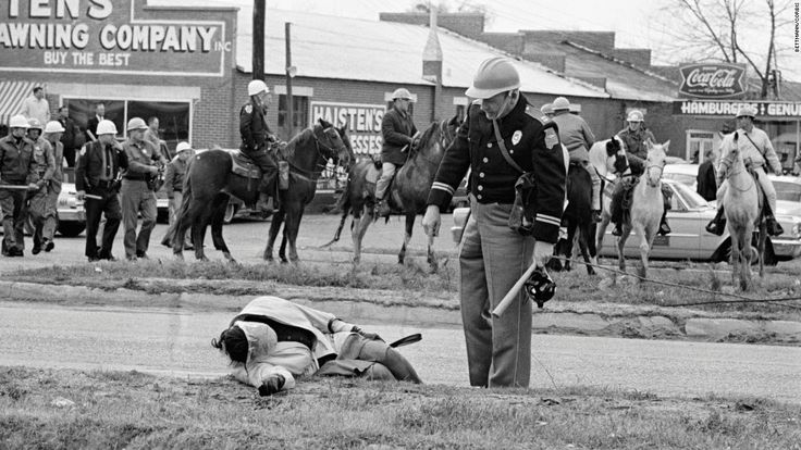 """Civil Rights Activist Amelia Boynton Robinson's severe beating by Dallas County Sheriff Jim Clark during the 1965 """"Bloody Sunday"""" confrontation at the Edmund Pettus Bridge in Selma, Ala., shocked the nation."""