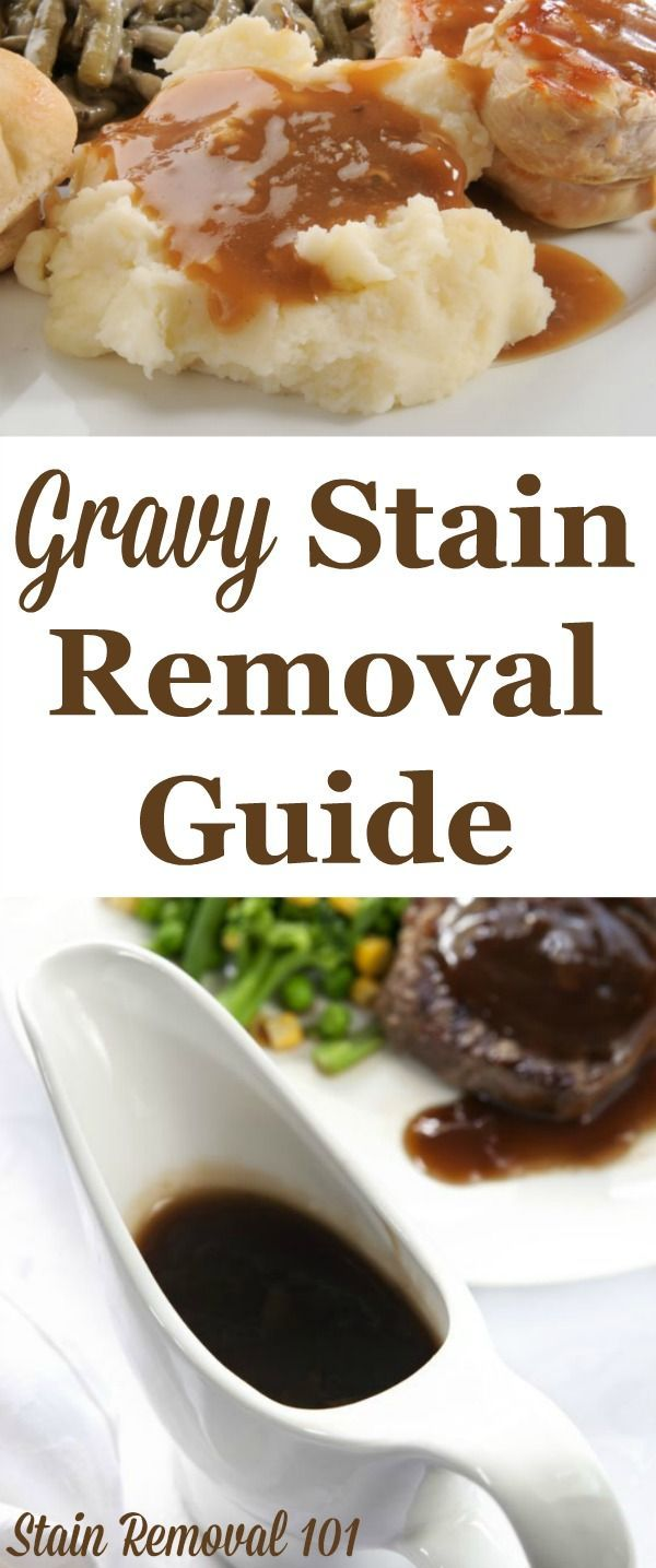 How To Remove Gravy Stains Clean Baking Pans Stain Removal Guide Cleaning Hacks