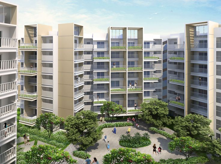 Residences designed in #honeycomb layouts connects life with social bonds. Witness it at #AhujaPrasadam in Ambarnath. Know More:http://prasadam.in