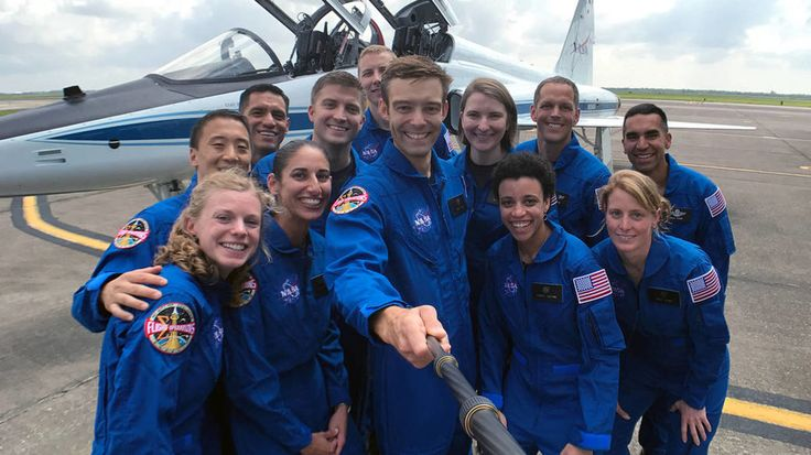 NASA had a record 18000 applicants to be an astronaut and these 12 made it.