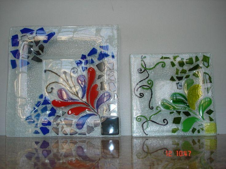 """Curvados Plaza SL - Cristal decorado """"fusing"""""""