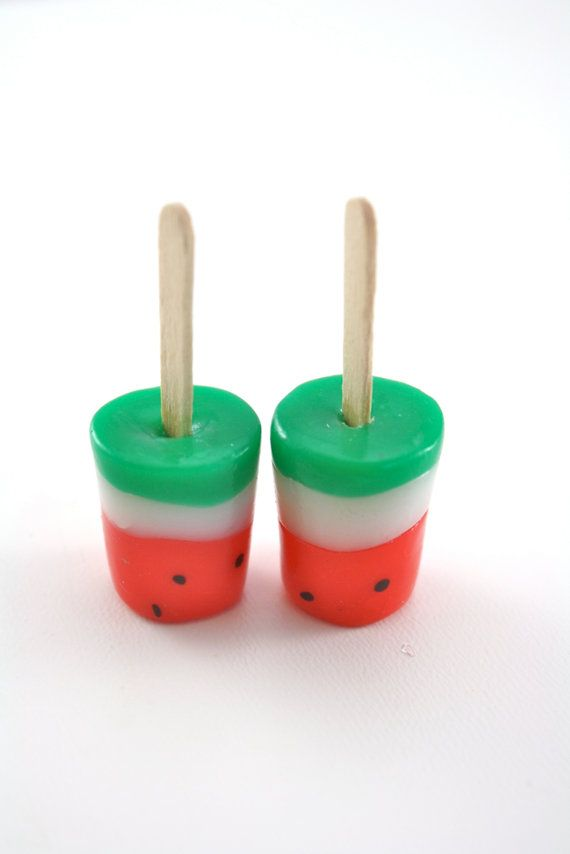 Watermelon Pops Food for American Girl Dolls by pippaloo on Etsy