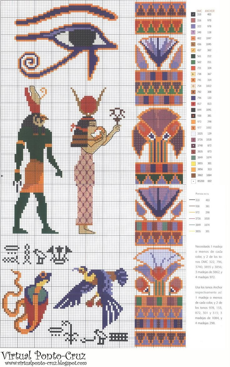 egyptian charts.  cool for a bookmark