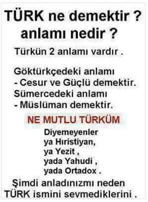 Türküm Ne Mutlu!
