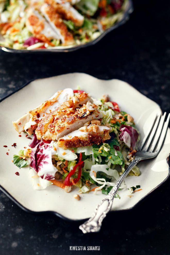 Kurczak w sezamkach