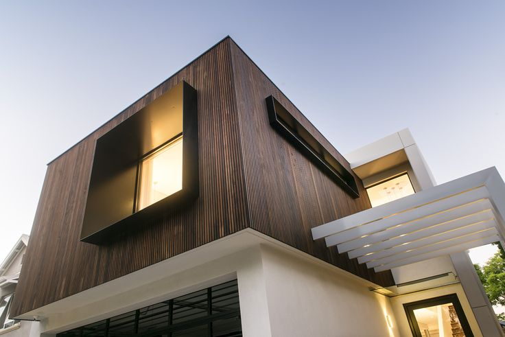 Add different textures to your elevation like the Tribeca by Webb & Brown-Neaves