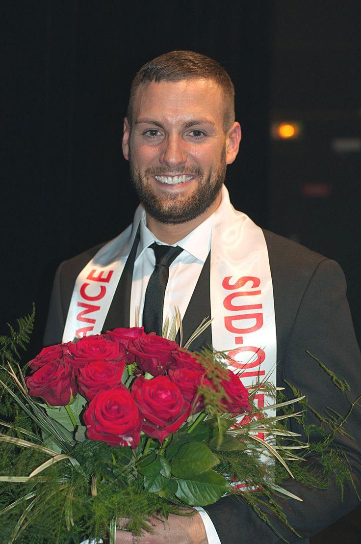 Christophe Dutrey élu Mister France Su-Ouest 2015 le 13 juin  2015 à Limoges