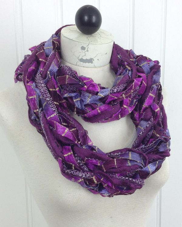 46 best ruffle yarn more than just scarves images on pinterest arm knit scarf starry night and starbella lace free pattern dt1010fo