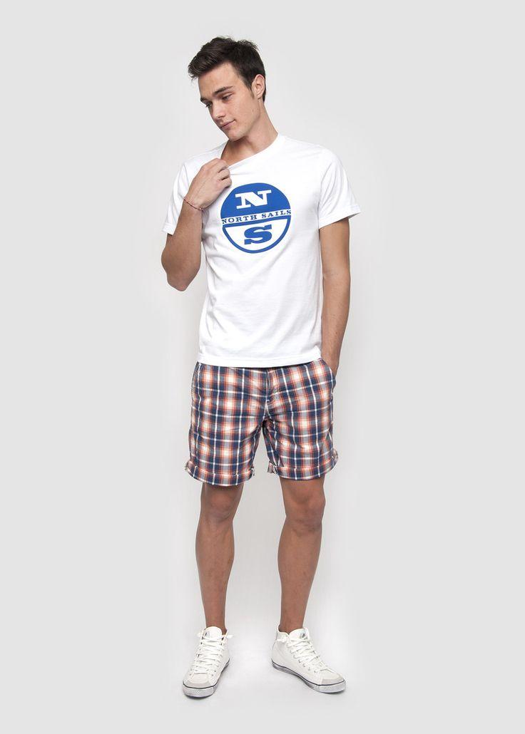 #NorthSails #collection #Spring #Summer #2014 #Man #tshirt #logo #printed #bermuda #Mitch #shorts #collezione #stagione #primavera #estate #uomo #maglia #bermuda #quadri