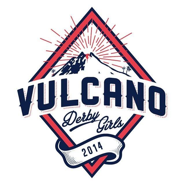 Vulcano Derby Girls - logotype