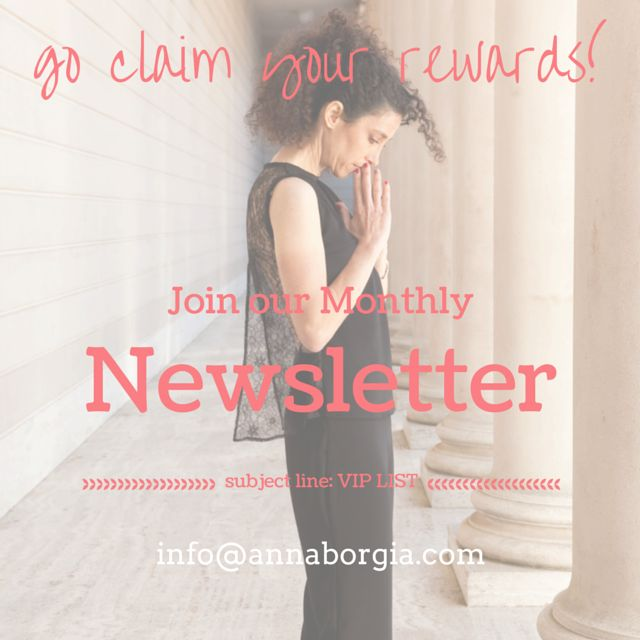 If you have no time for Social Media, connect with Annaborgia through our Monthly Newsletter, we share our start up adventures and milestones. Plus reward our subscribers!