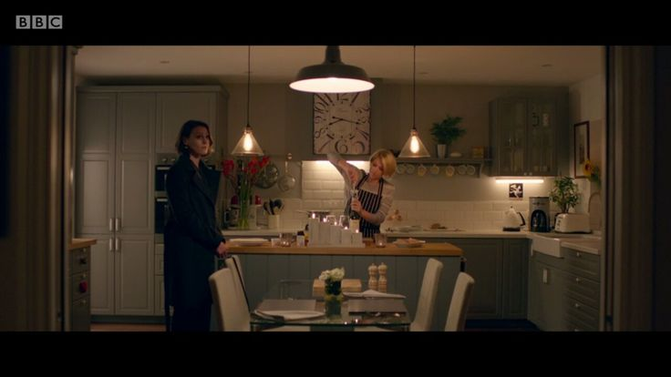 Kitchen in Dr Foster (BBC)