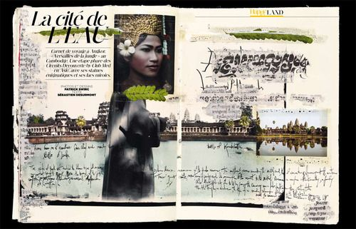 modds | Carnet de voyage - Angkor - Cambodge - Patrick Swirc pour Happy Life magazine