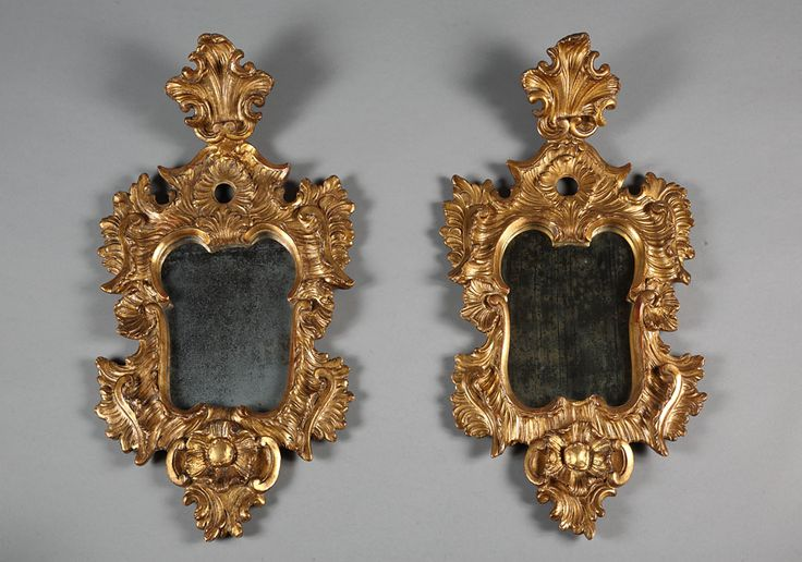 124 best furniture images on pinterest objects 18th for Floor mirror italian baroque rococo style