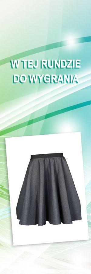 Spódnica JeansSkirt, jeden rozmiar; Projektant: Si: Haute Fashion; Wartość: 159 zł. Poczucie piękna: bezcenne. Powyższy materiał nie stanowi oferty handlowej.