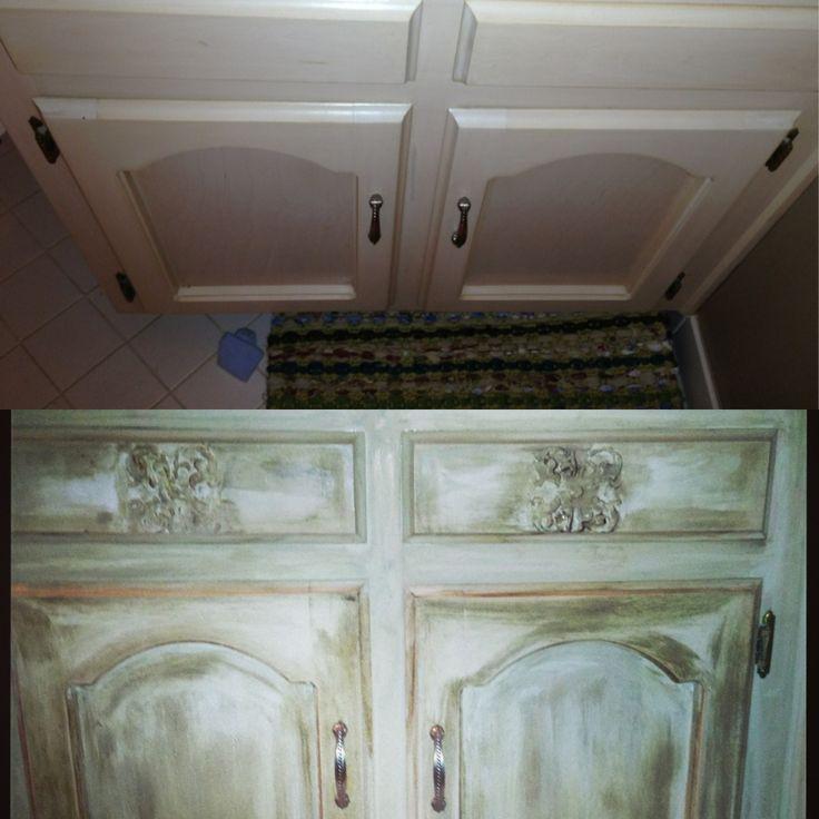 Diy Repaint Cabinets Chalk Paint Annie Sloan Chalk Paint