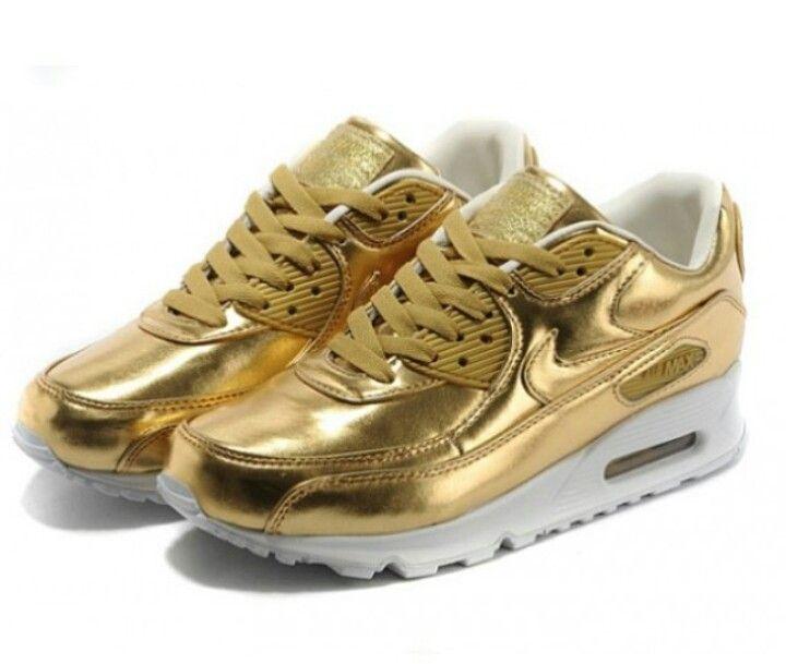 cheaper 66e94 ea604 Nike Air Max 90 in oro bianco 5,nike air max nere,nike deal,autorizzato,air  max 90 oro