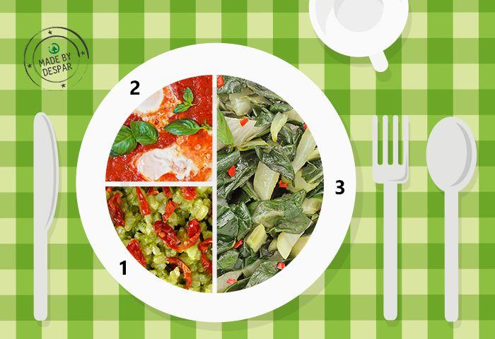 Piatto unico: biete allo zenzero, riso integrale, uova al pomodoro