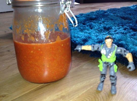 How to Make Hot Volcano Chilli Sauce