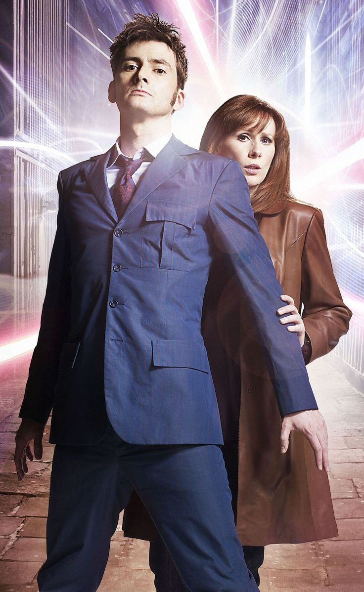 Don't mess with my mate Donna! David Tennant and Catherine Tate