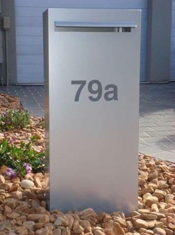 Horizontal Pillar letterbox. #letterbox