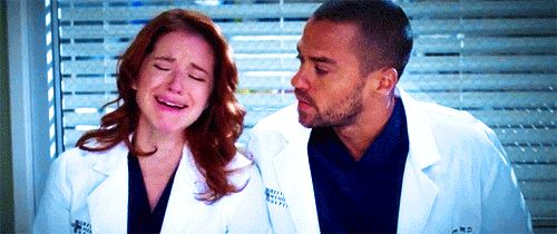 Pin for Later: 22 Grey's Anatomy Moments That Give Hope For Jackson and April's Reconciliation When Jackson Gives April a Shoulder to Cry On