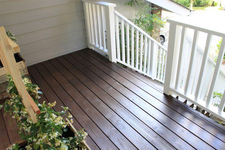 25 best ideas about deck stain colors on pinterest deck - Home depot exterior paint color chart ...