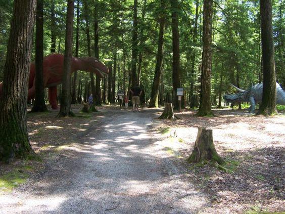 Travel | Michigan | Dinosaur Park | Adventures | Outdoors | Family Fun | Day Trips | Dinosaurs | History