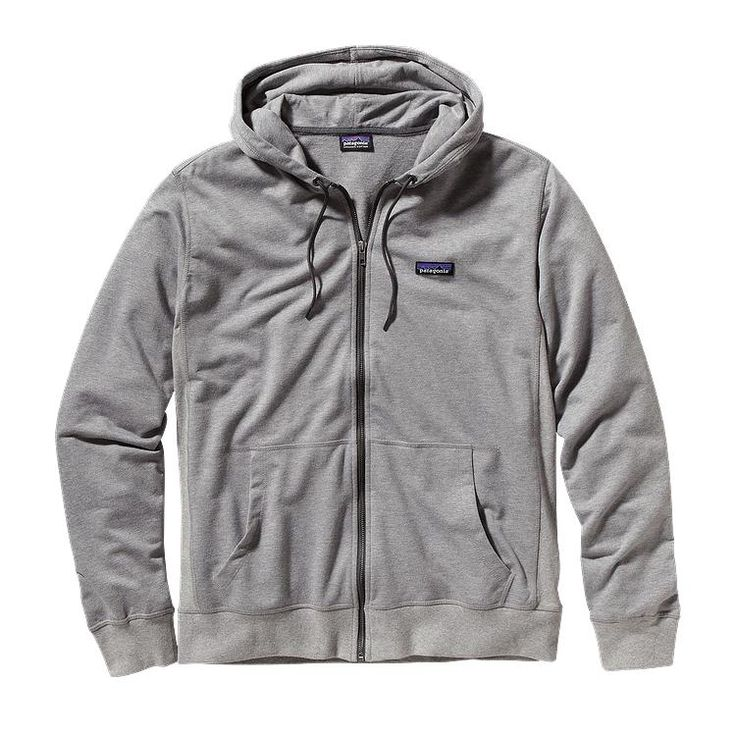 Patagonia Men\'s Lightweight Full-Zip Hoody - Feather Grey FEA