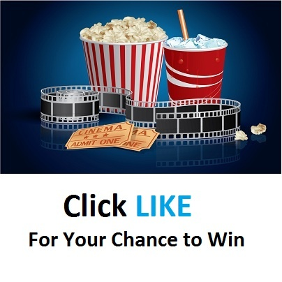 """Like"" us on Facebook for a chance to win a  $30 Cineplex Odeon Giftcard!"