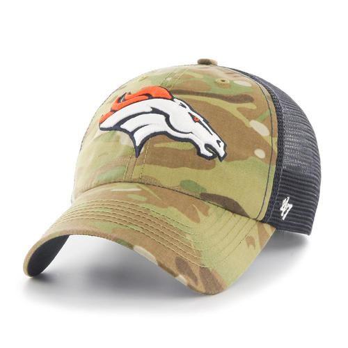 Men's Multicam Compass Closer Mesh Denver Broncos Hat
