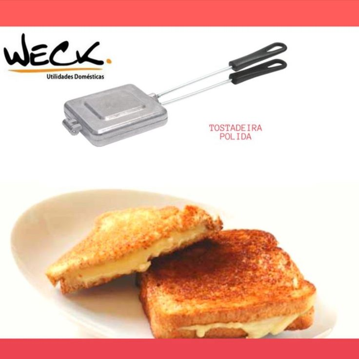A Tostadeira Polida WECK, é prática e fácil, indispensável na cozinha. Tá na correria, 4 minutos e seu lanchinho esta pronto. Delicioso. 😀😀😀 #decoresuacozinha #weckcolorindoseular #cozinha #comidaboa